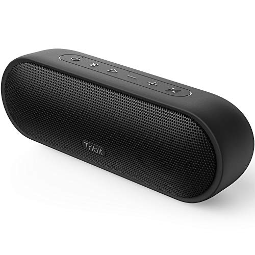 Tribit MaxSound Plus Portable Bluetooth Speaker,24W Wireless Speaker with Powerful Louder Sound, Exceptional XBass, IPX7 Waterproof,20-Hour Playtime,100 feet Bluetooth Range for Party,Travel,Outdoor
