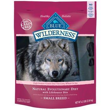 Blue Buffalo Wilderness Small Breed Adult – 4.5 lb bag, My Pet Supplies