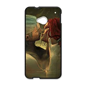 HTC One M7 Cell Phone Case Black The Witcher 3 Wild Hunt review Triss Merigold LV7925881