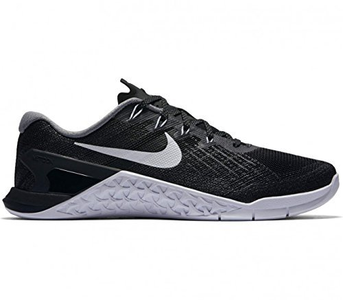 Nike Womens Metcon 3 Training Shoes Black/White Size 8