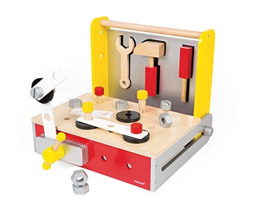 Janod Bricolo Redmaster Foldable Workbench product image