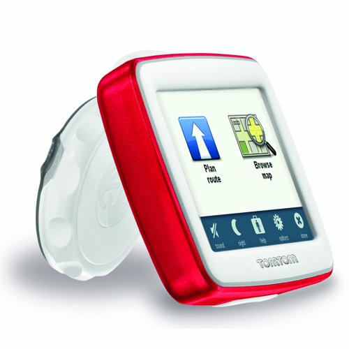 Amazon.com: TomTom EASE 3.5-Inch Portable GPS Navigator (Red): Home