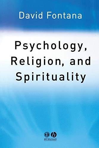 Psychology, Religion and Spirituality