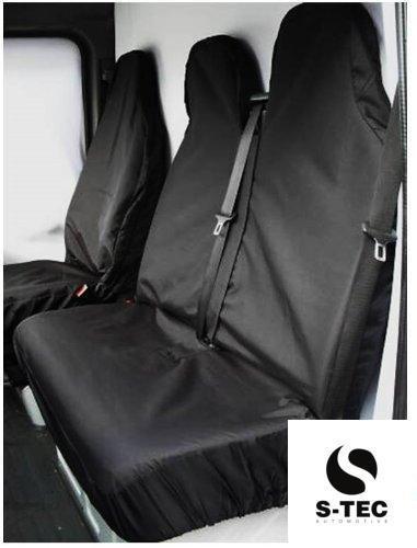 tech automotive Waterproof Black Van Seat Covers 2+1 Attractive Design Heavy Duty Durable S