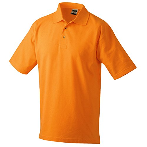 Polo Nicholson Piqué Homme James Orange Jn020 Manches Courtes amp; 5EqtfxB