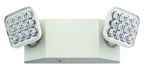 Lithonia Lighting EU2 T20C M12 2-Light White LED Emergency Fixture with 90 Minute Back Up Generation 2 T20 Compliant ()