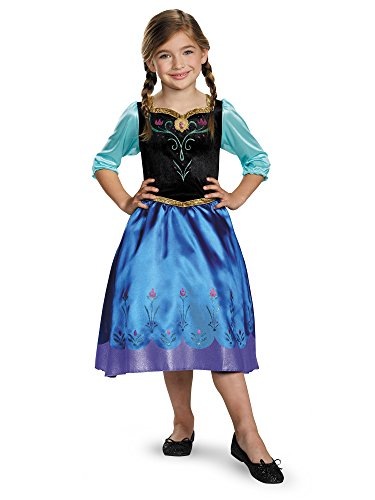 Four Person Group Halloween Costumes (Anna Classic Costume, Small (4-6x))