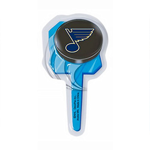 NHL Saint Louis Blues Cupcake Picks 12 Count -