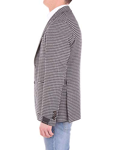 Men's F04f1g002black Wool black Blazer White Tagliatore AdY7qA