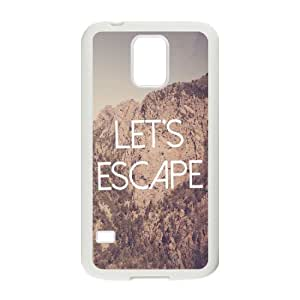 Let's Escape Wholesale DIY Cell Phone Case Cover for SamSung Galaxy S5 I9600, Let's Escape Galaxy S5 I9600 Phone Case