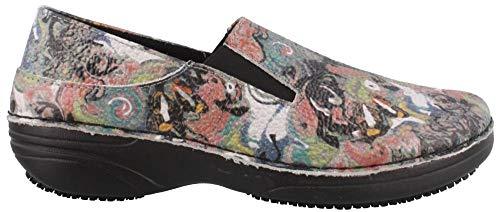 Shoe Manila Spring Work Multi Black Step Paintpot Women's aqwIwxBO