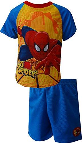 Marvel Comics Spiderman Go Spidey Toddler Pajamas for Little Boys (3T)