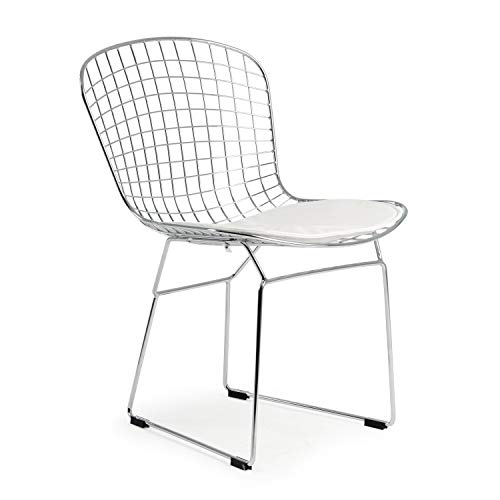 Poly and Bark Morph Side Chair in White ()