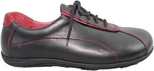 de Femme Noir Lacets à Noir Ville Bär Pour Chaussures 7xw15nYWq