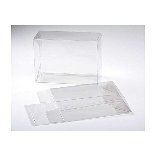 Clearbags 5    X 3  X 7    Clear Gift Boxes   Clear Pet Plastic Boxes For Weddings  Parties  Baby Shower   Party Favor Boxes For Candy Cupcakes Cookies Macaroons Apples   Fda Approved Plb67a   25 Boxe