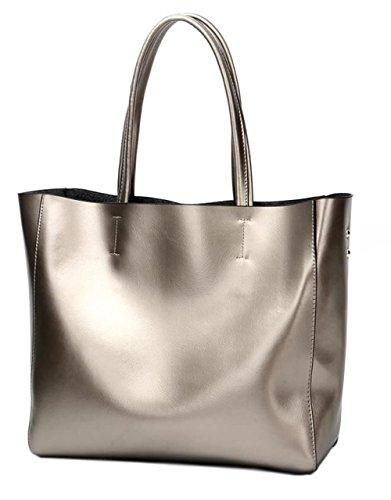 Covelin Women s Handbag Genuine Soft Leather Tote Shoulder Bag Hot 5ba6c84d7c66c