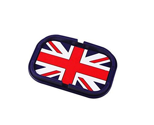 PANDA SUPERSTORE British Flag,Cartoon Silcon Non-Slip Car