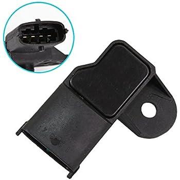 MAP Sensor Manifold Pressure Sensor fit 46553045 0261230030 for Fiat 500 Brava Bravo Doblo Idea Linea Palio Panda Punto Qubo Stilo Alfa Romeo Mito 2008-2014 ...