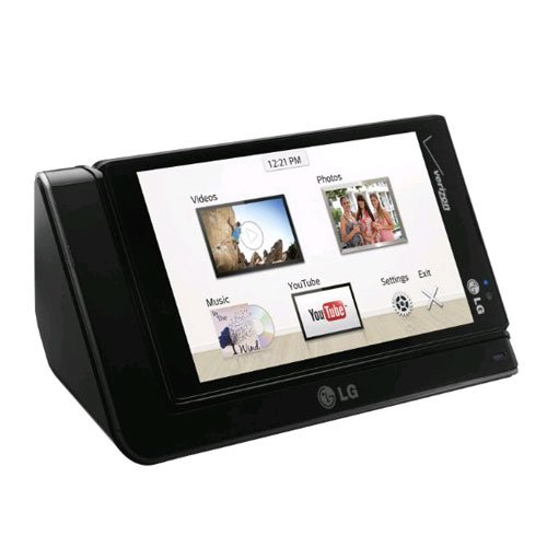 LG Electronics SDT-250 Media Charging Dock for LG Lucid2 - Non-Retail Packaging - Black