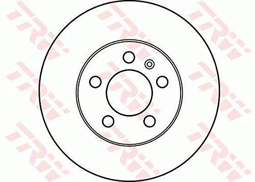 x2 Bremsscheiben TRW DF2803 Bremsscheibe Scheibenbremsen