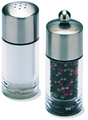 Olde Thompson 4-3/4-Inch Biscayne Peppermill and Salt Shaker Set