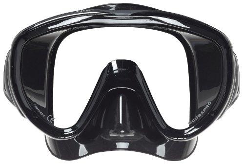 Scubapro Flux Mask for Scuba Diving or Snorkeling (Black)