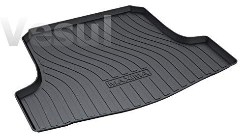 Vesul Rubber Rear Trunk Cover Cargo Liner Trunk Tray Floor Mat Carpet Fits on Nissan Maxima 2016 2017 2018 2019 ()