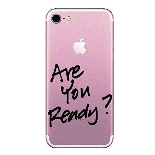 iphone 6 Cover ,Transparent Custodia Antiuroto Ultra Sottile Bumper Soft Morbido TPU Gel Silicone Protettiva Case per i Phone 6s Plus (i Phone 6s/6 Plus, Gel di silice 5)