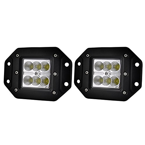 5 inch amber fog light kit - 4