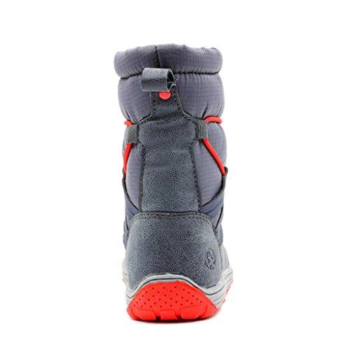 Red Gray Dark Toboggan Boot Kids' Snow Toddler Northside wxqvz0Yga