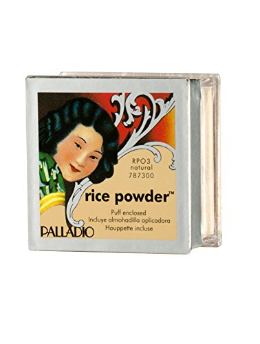 Palladio Natural Rice Powder (White Face Makeup Powder)