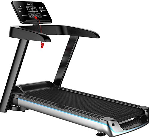 Folding Treadmill Easy Assembly Electric Motorized Running Jogging Machine For Home Fitness Exercise