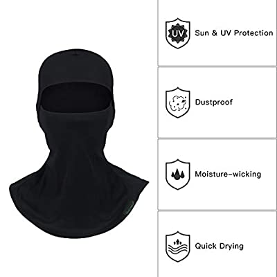 Balaclava Full Face Mask Motorcycle Helmet Liner Breathable Multipurpose Outdoor Sports Wind Proof Dust Head Hood: Automotive