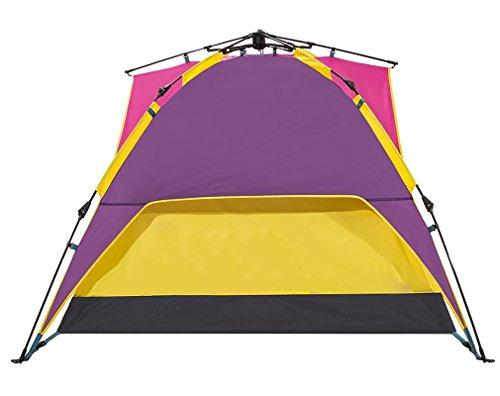 従者吐き出す説教する[ノーブランド品] アウトドア 軽量 配色 日焼け防止 テント 5人用 マルチカラー