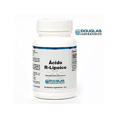 Acido R-Lipoico - Laboratorios Douglas - 100 mg. 60 Capsulas Vegetarianas: Amazon.es: Salud y cuidado personal
