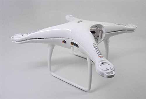 DJI Phantom 4 Pro Genuine Body Shell Top & Bottom Cover + Landing Gear Antenna + Screw For DJI Phantom 4 Pro Pro+ with unique DJI club car sticker -  gidy