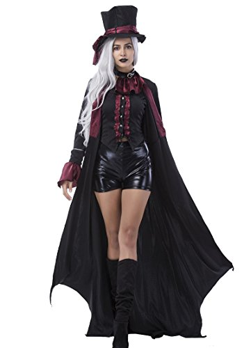 RGA Seraph of the End Vampires Krul Tepes Uniform Cosplay Costume (Large, (Zombie Stewardess Costume)