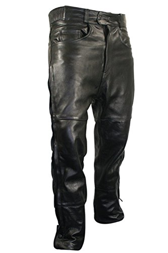 Leather Motorcycle Pants For Men - 1