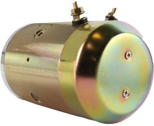Maxon Waltco Liftgates /& SNO-Way Plow Motors 12 Volt HD Double Ball Bearing W8989 02-1021 25010230 25163 4Z629 7997 8987 CM6586 GB4042HD 1787 1787AC 1789AC New Hydraulic Pump Motor for Fenner Dell