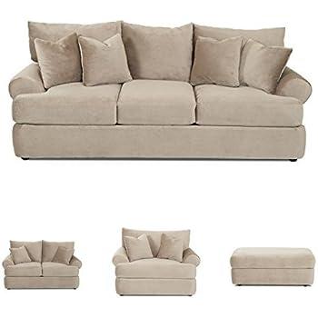 Amazon Com Klaussner K41200 Cora Collection Living Room