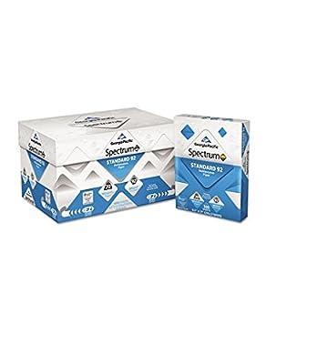 Georgia Pacific - Spectrum Standard 92 Multipurpose Paper, 20lb, 8-1/2 x 11, White, 500 Shts/Ctn 999705 (DMi CT