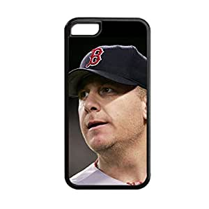 Silicone Nice Back Phone Case For Teen Girls For Apple 5C Printing With Curt Schilling Choose Design 2