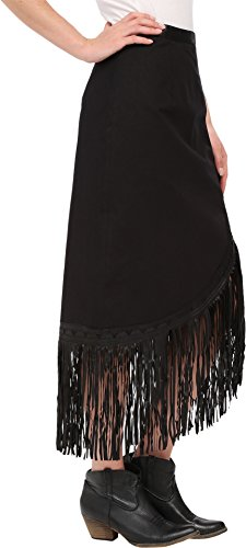 Tasha Polizzi Women's Trail Skirt Black Skirt MD by Tasha Polizzi (Image #1)