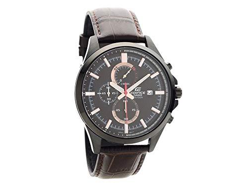 Casio EFV-520BL-5AVUEF Edifice - Reloj de Pulsera (cronógrafo, Correa de Piel), Color marrón: Amazon.es: Relojes
