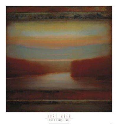 Evigilo I HIGH QUALITY MUSEUM WRAP CANVAS Print Kurt Meer 40x42