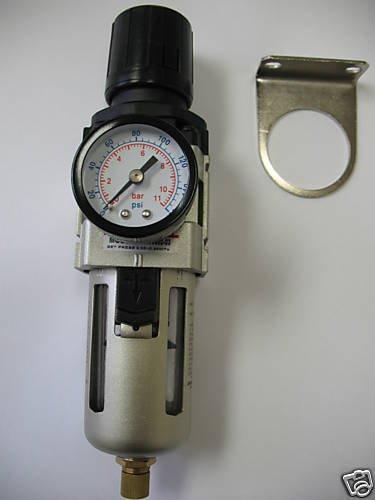 Mettle R AW3000-N02-1PKD Automatic Drain Air Filter/Regul...