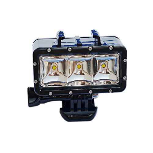 Suptig XShot Dimmable Waterproof (45m) LED Video Light for GoPro Cameras by Suptig