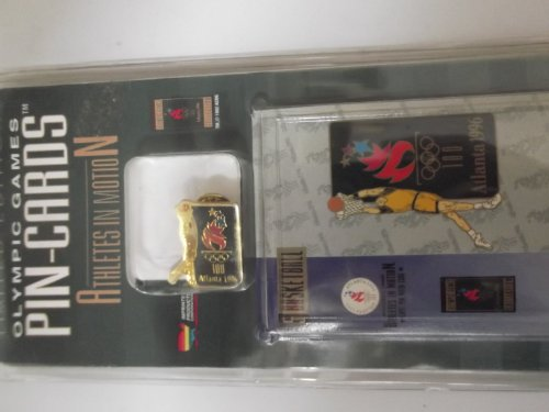 - Limited Edition Olympic Pin Cards Atlanta 1996 Basketball