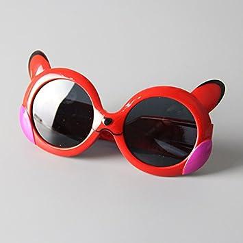 Kinder Sonnenbrille Unisex Gläser für Junge & Mädchen TyemhQ41
