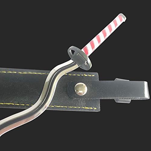 Demon Slayer 1/6 Size 10''Iguro Obanai Sword Samurai Sword Katana Knife Action Figures Game Collection Sword Toys Sword Party Supplies Gift Sword Metal Arts Collections Room Decoration (Iguro Obanai)